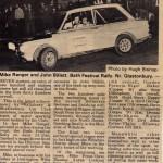 Michael Ranger rally