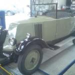 Vintage car at Rangers
