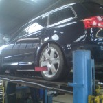 Work on Audi S4