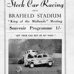 Stock Car Racing programme 1959