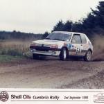 Peugeot in race