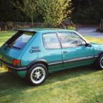Peugeot turquoise