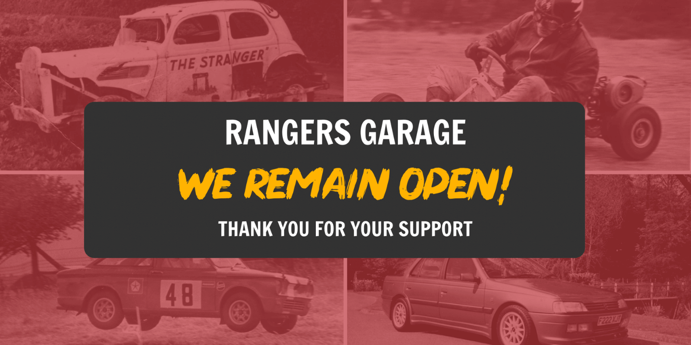 Rangers Garage - COVID-19 Update - 05/01/2020